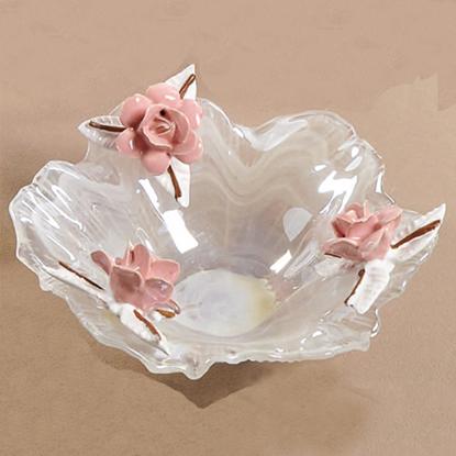 Immagine di Ciotola media con rose
