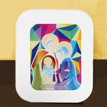 Immagine di Icona con Sacra Famiglia